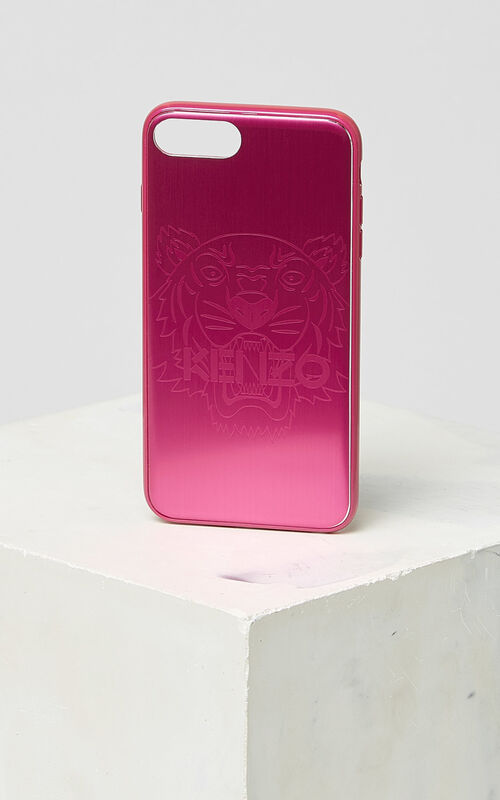 ROSE iPhone 7+/8+ Tiger Case for unisex KENZO