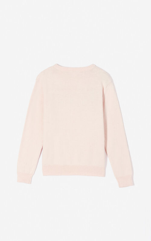 FADED PINK KENZO Paris 'Cosmic' jumper for women