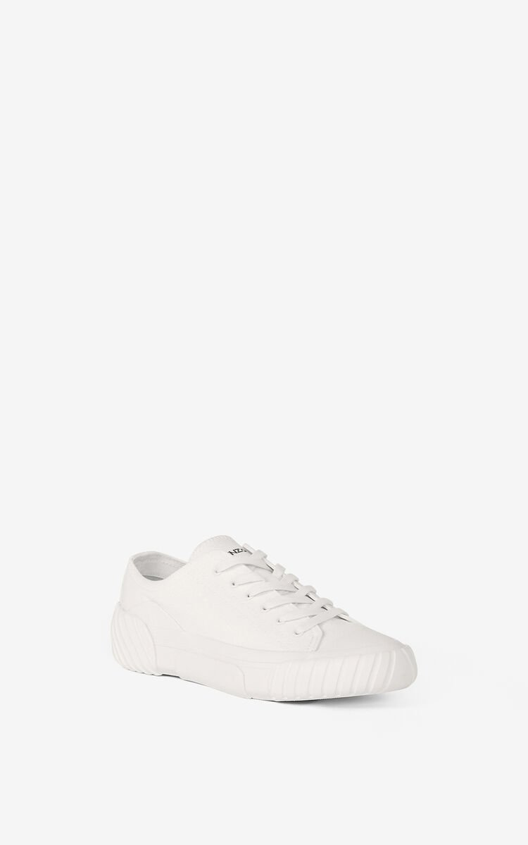 WHITE Tiger Crest trainers    for men KENZO