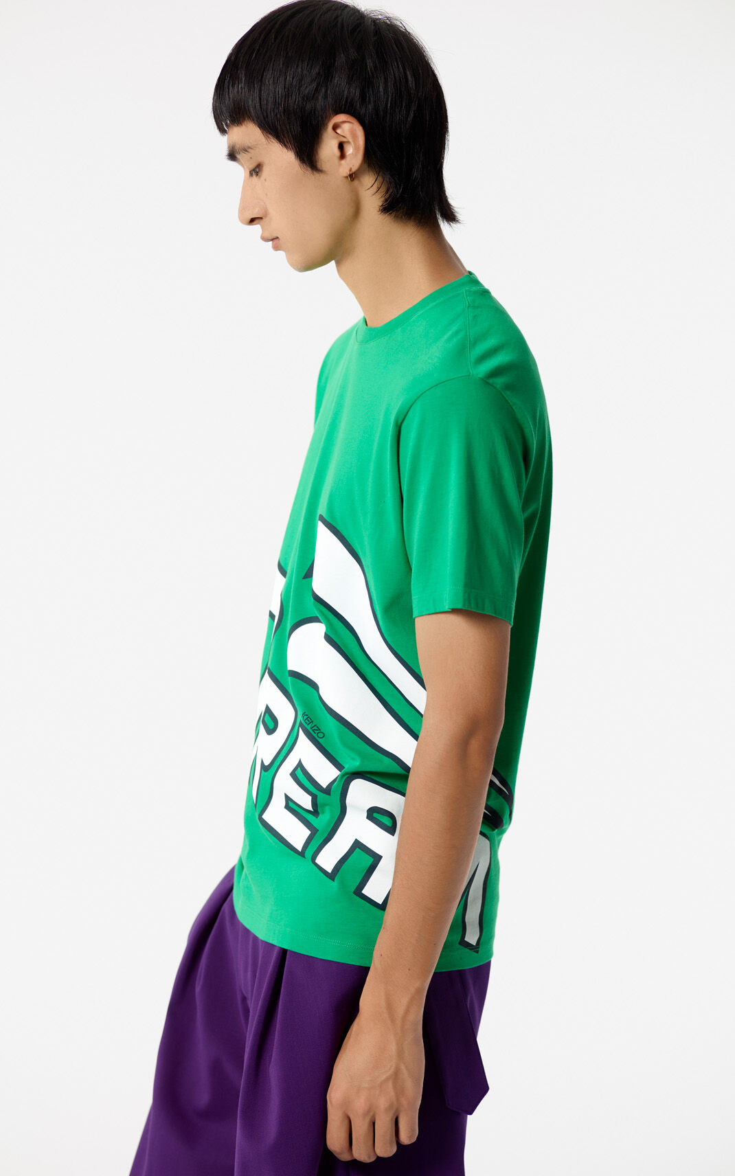 GRASS GREEN 'Dream' T-shirt for men KENZO