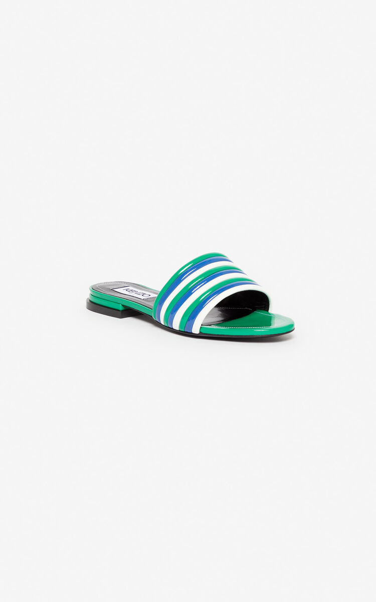 GRASS GREEN Ana mules for women KENZO