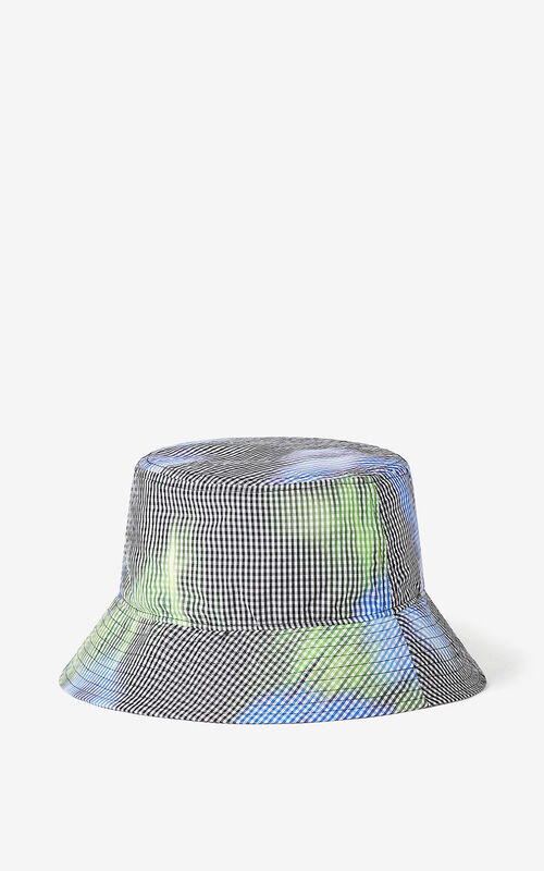 GREEN 'Poppy' sun hat for unisex KENZO