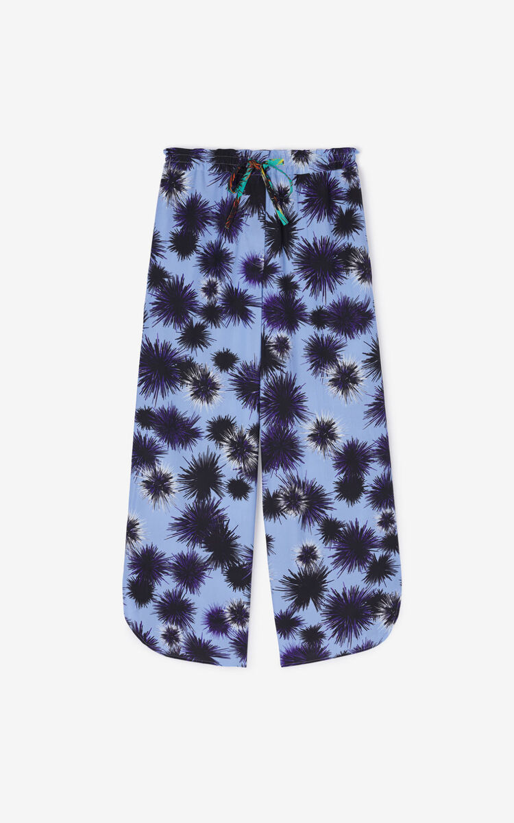 LAVENDER 'Seashells & Urchins' 'High Summer Capsule Collection' culottes for men KENZO