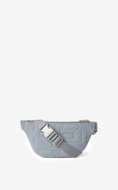 PEARL GREY Arctic belt bag for unisex KENZO