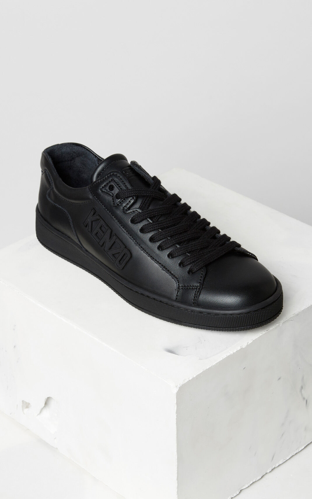 BLACK Tennix sneakers for women KENZO