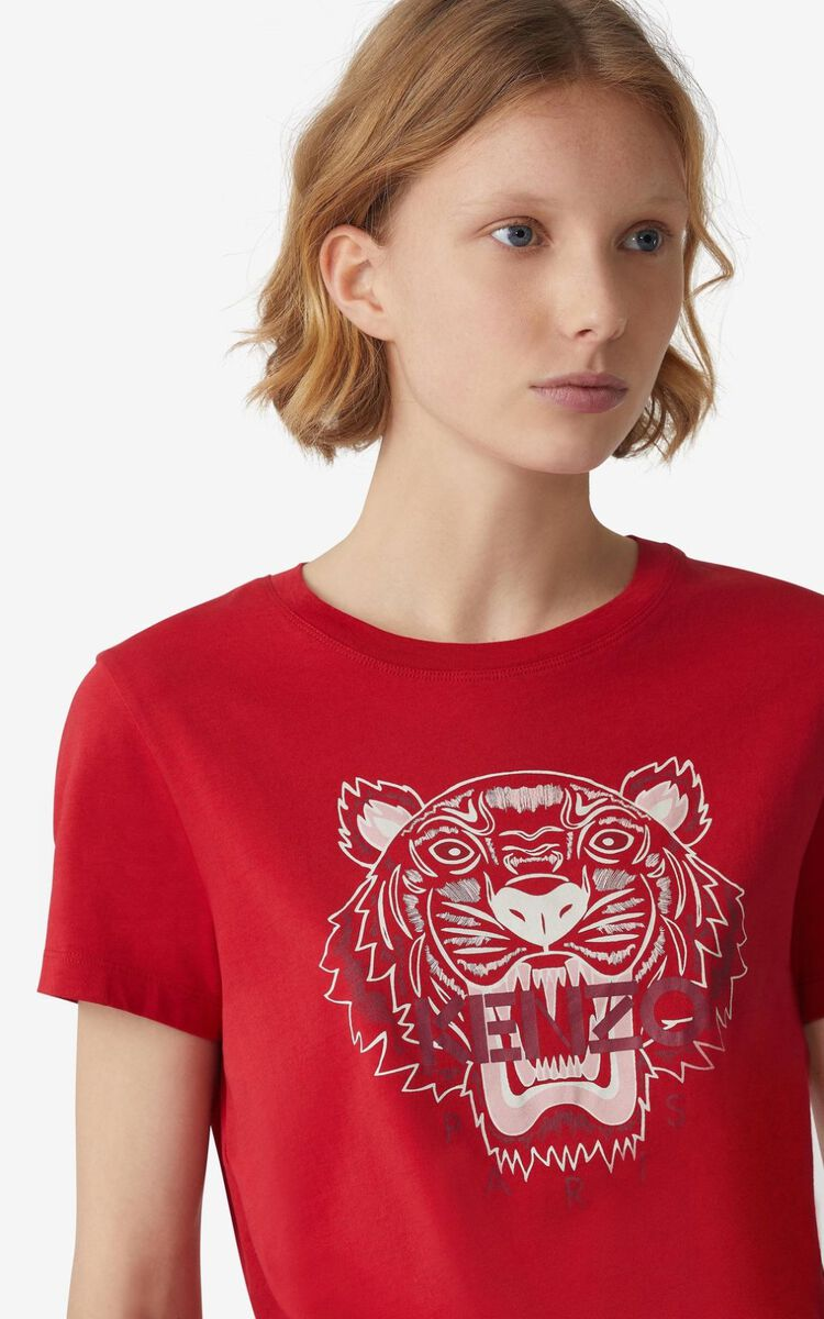 CHERRY Tiger T-shirt for women KENZO