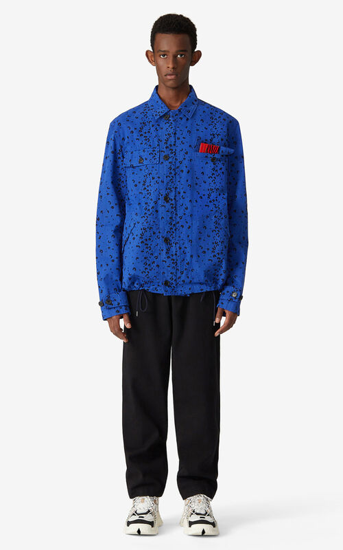 ROYAL BLUE Jacket for men KENZO