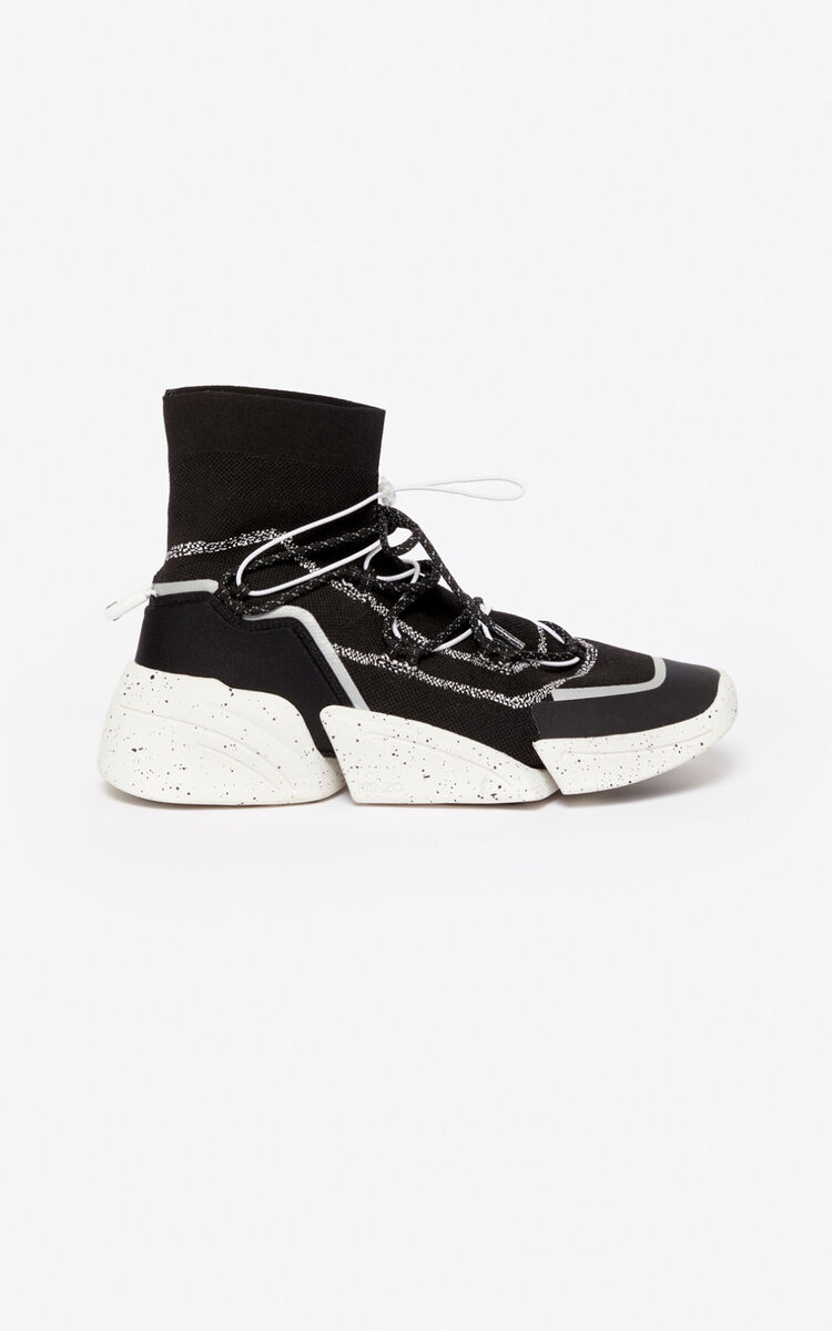 BLACK K-Sock sneakers for unisex KENZO