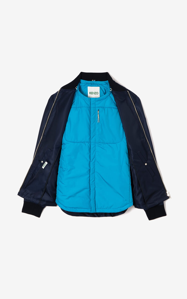 NAVY BLUE 2-in-1 jacket for men KENZO