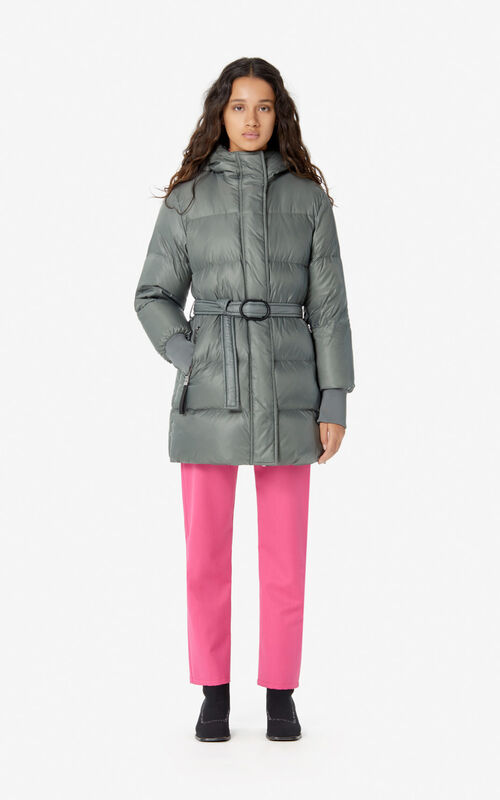 OLIVE Long quilted puffer jacket for women KENZO