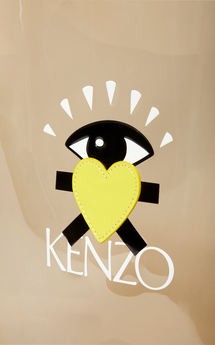ANTHRACITE 'Cupid' tote bag 'Capsule Back from Holidays' for unisex KENZO