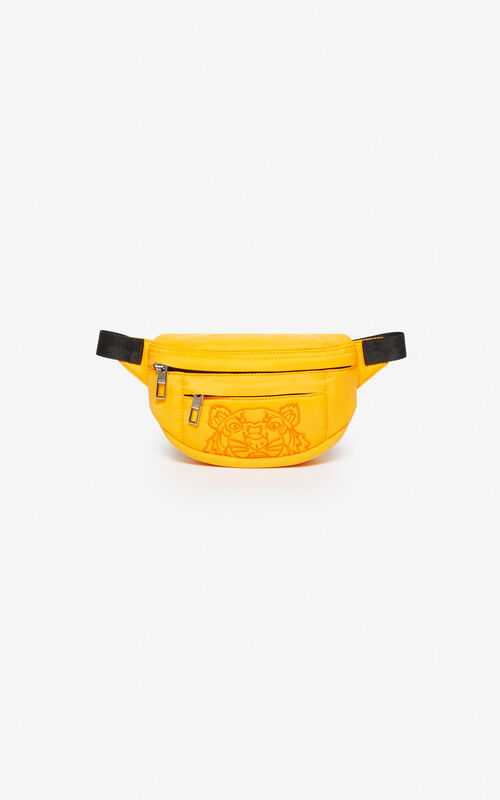 MARIGOLD Mini belt bag with embroidered Tiger for unisex KENZO