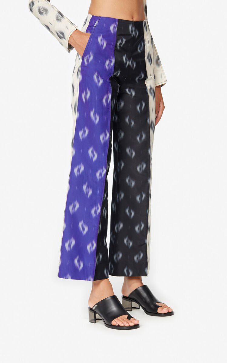 MULTICOLOR Short 'Ikat' trousers for women KENZO