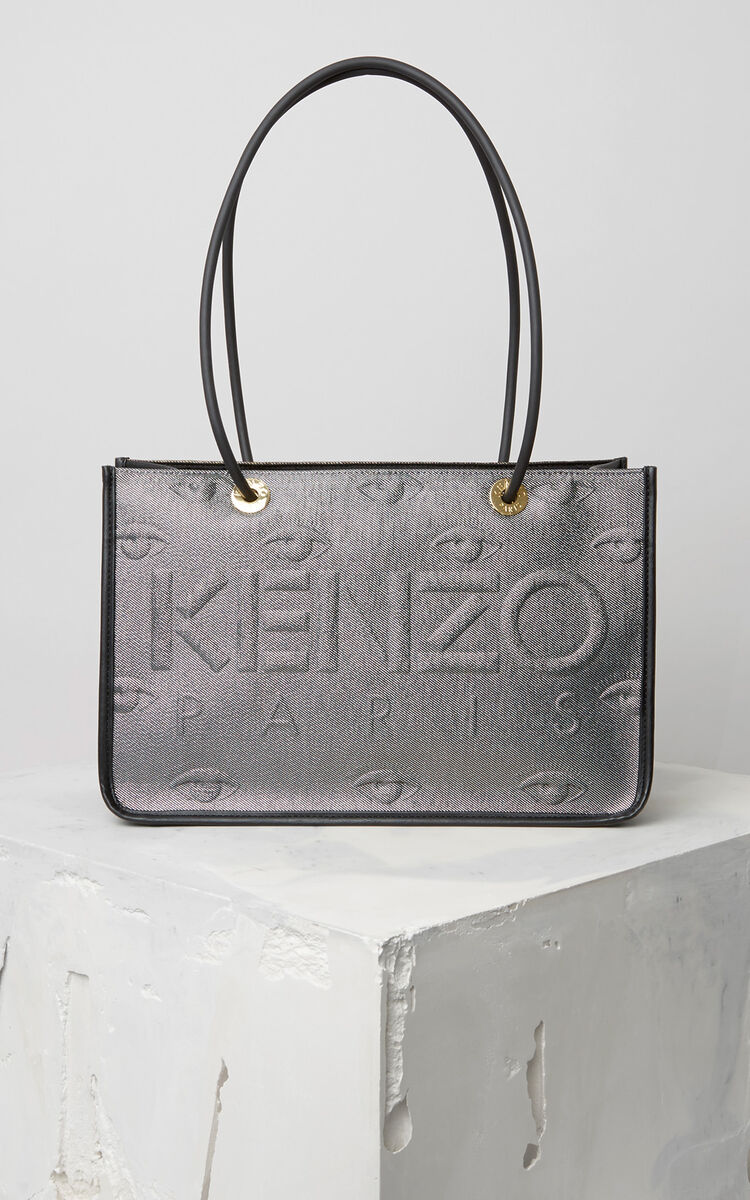 SILVER KENZO Kombo Tote Bag for women
