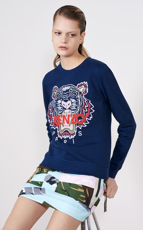 INK Tiger Sweatshirt for women KENZO