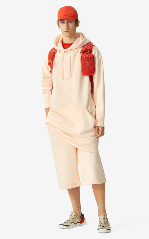 BLUSH KENZO Sport 'Little X' long hooded sweatshirt    for men