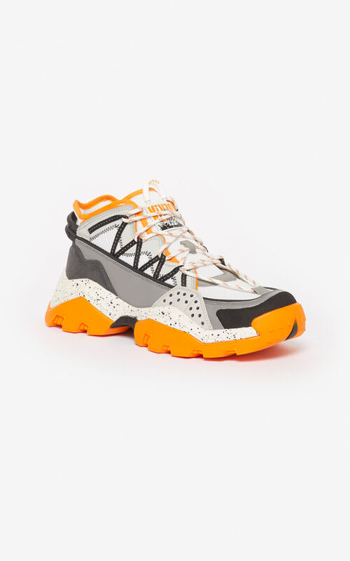 MEDIUM ORANGE Inka sneakers for unisex KENZO