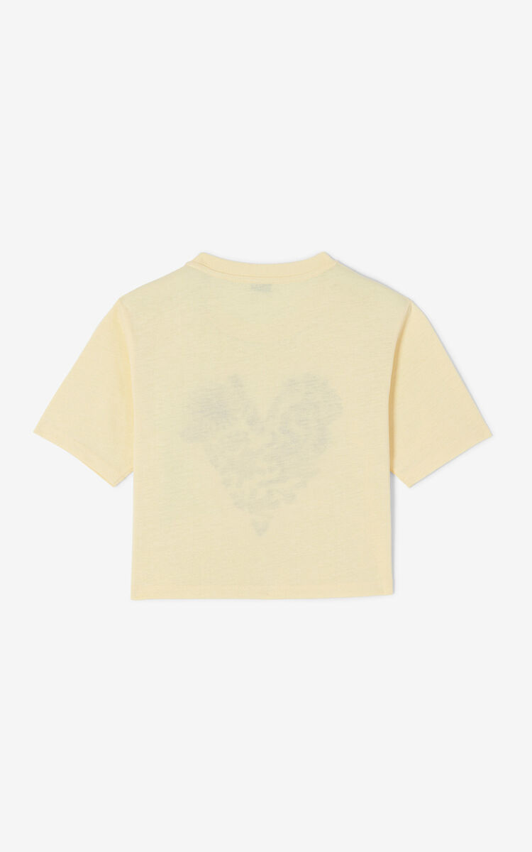 VANILLA 'Lucky Star' short T-shirt for women KENZO