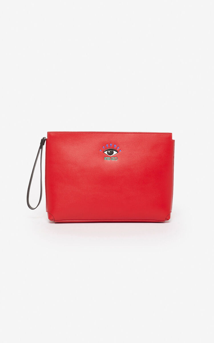 CHERRY Gusset Clutch Eye for men KENZO