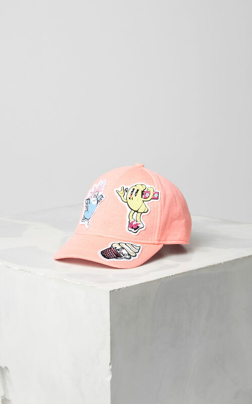 CORAL 'Food Fiesta' cap for women KENZO