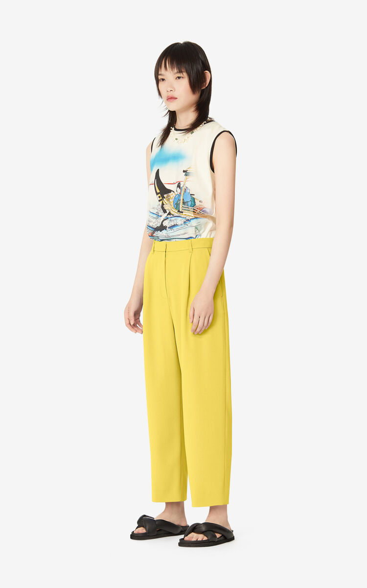 LEMON Pleated trousers for women KENZO