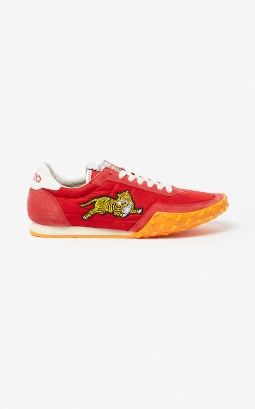 MEDIUM RED KENZO MOVE Sneaker for unisex