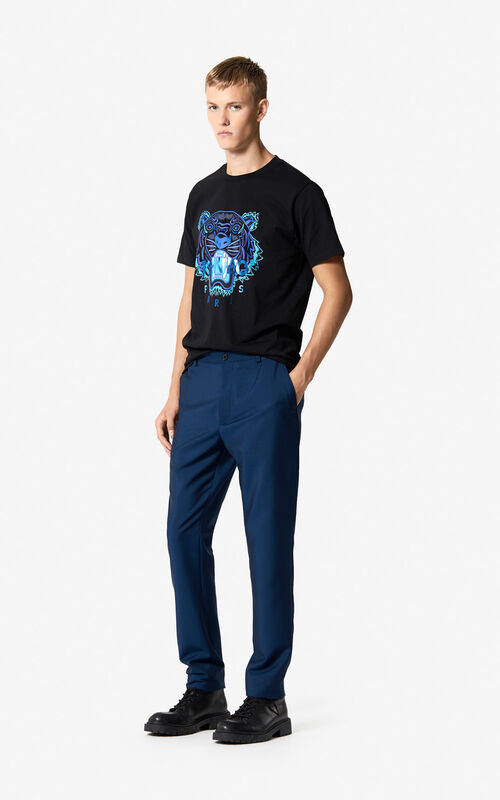 DUCK BLUE Straight-leg trousers 'Holiday Capsule' for men KENZO