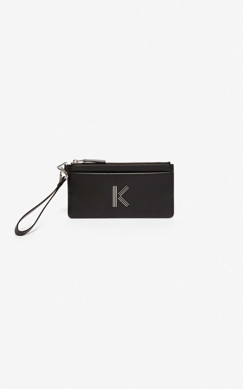 BLACK K-Bag wallet  for women KENZO