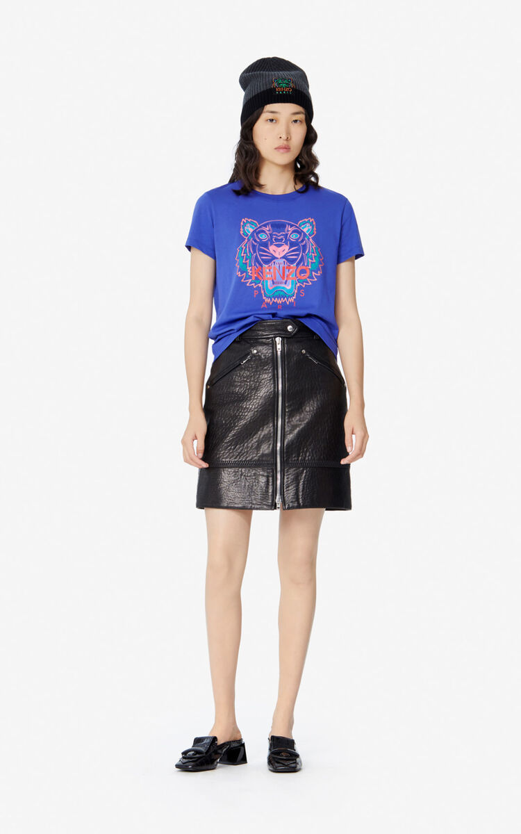 AUBERGINE Tiger T-shirt for women KENZO