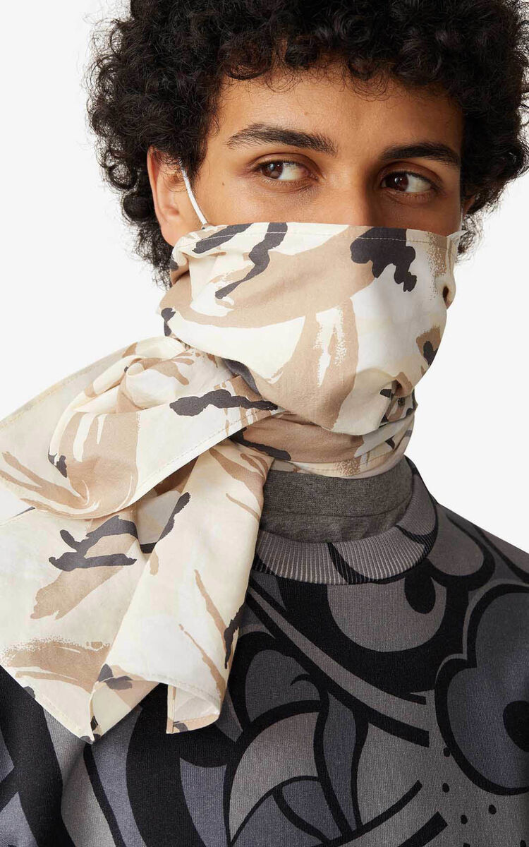 OFF WHITE Scarf mask holder for unisex KENZO