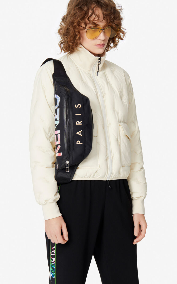 OFF WHITE KENZO Paris quilted down jacket for women