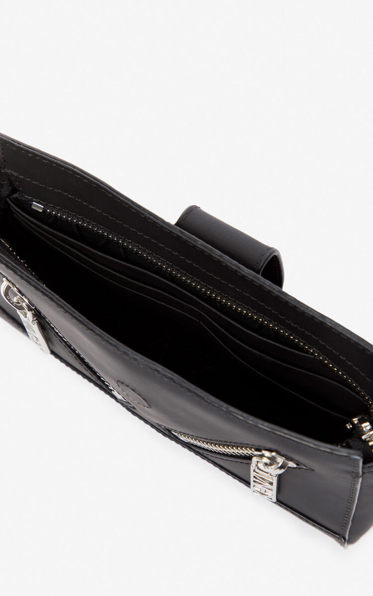 BLACK Kalifornia belt-bag for unisex KENZO