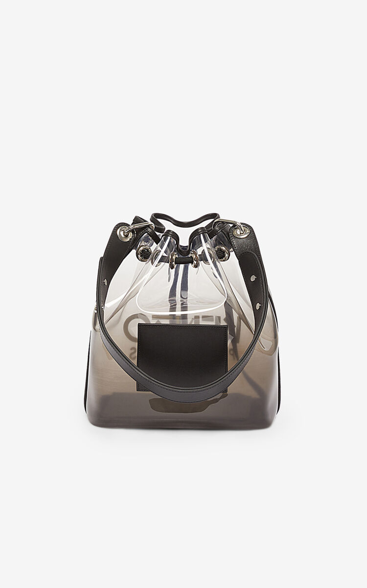 BLACK KENZO Kombo bucket bag for unisex