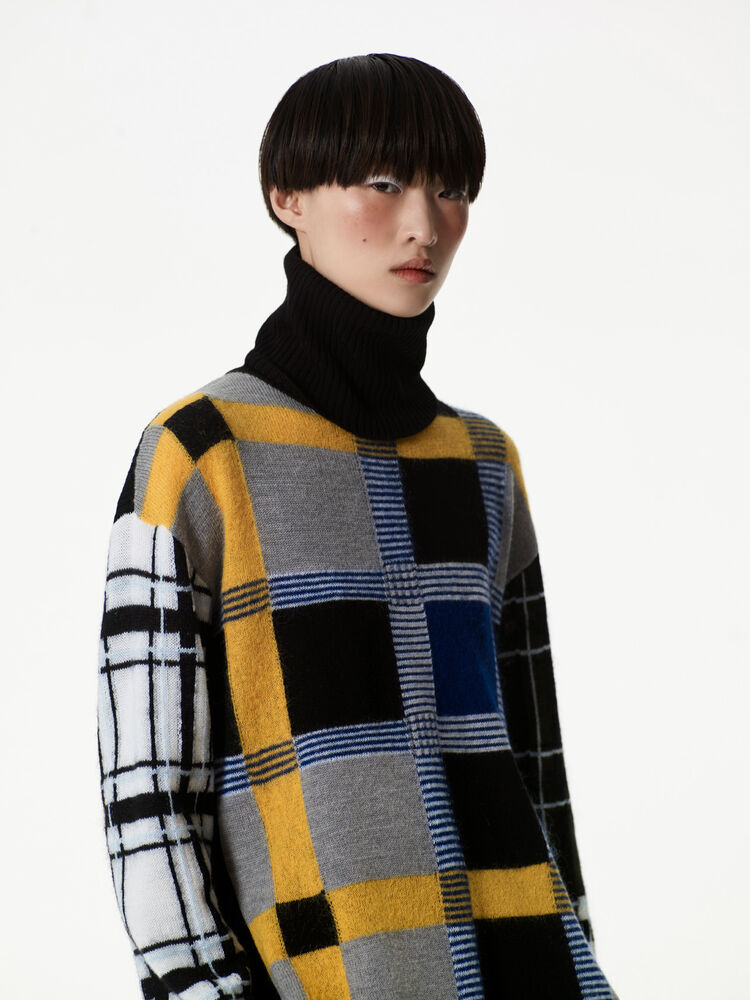 MULTICOLOR Coloured knitted jumper for women KENZO
