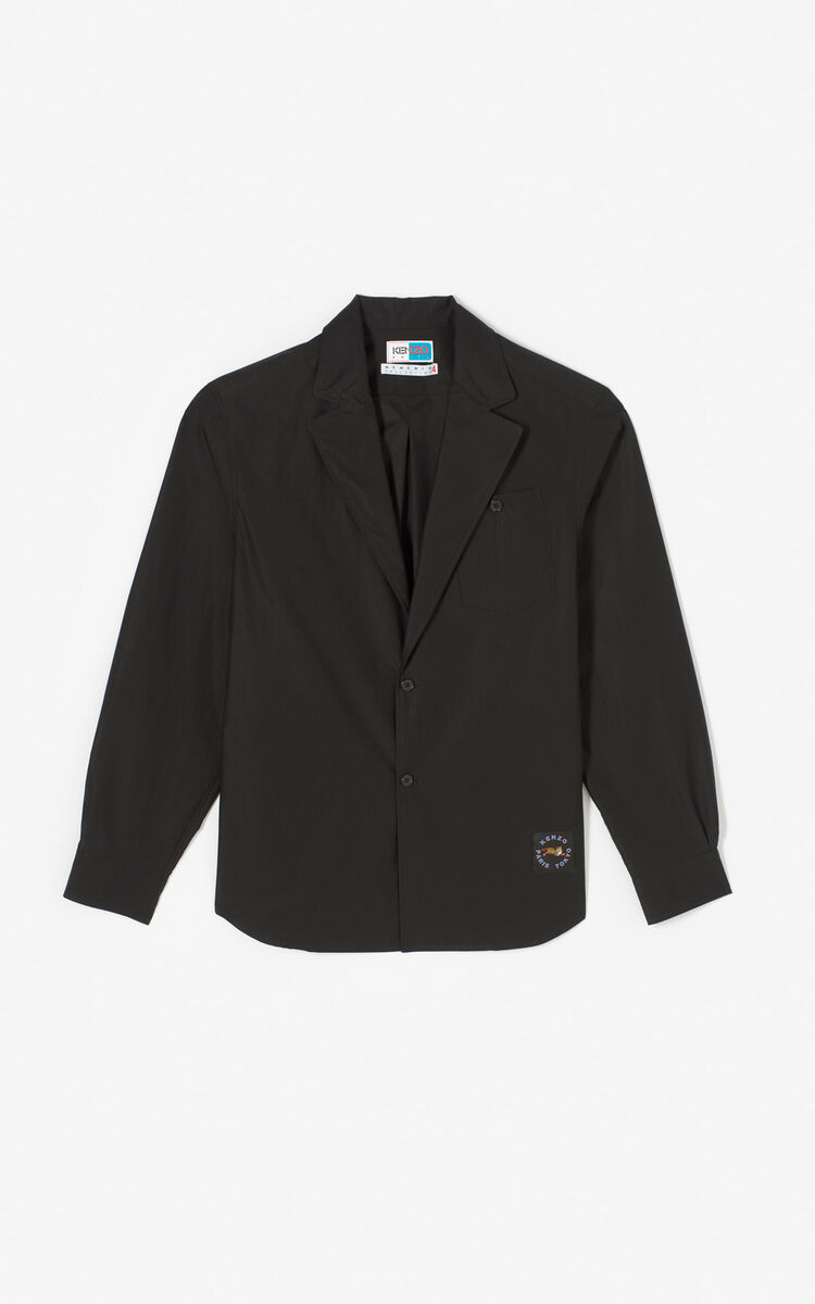 BLACK Lightweight suit jacket for men KENZO