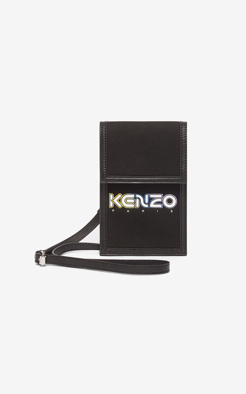 BLACK Kombo KENZO phone case for unisex
