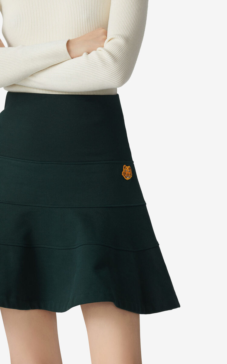 PINE Frilled miniskirt for women KENZO