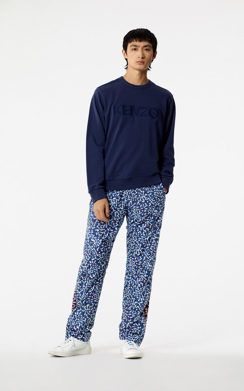 INK Jumper with tone-on-tone KENZO Paris logo for men