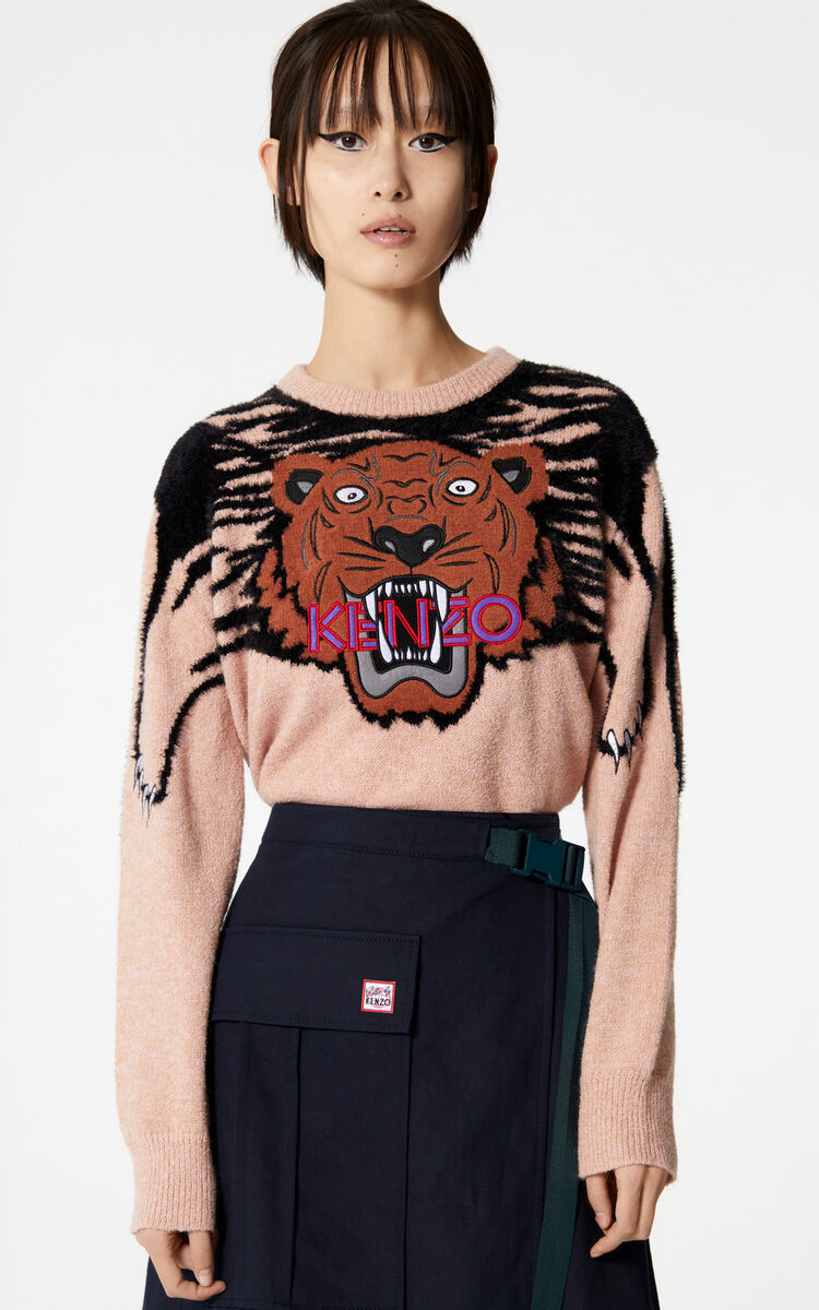 SAND Oversize Tiger jumper for women KENZO