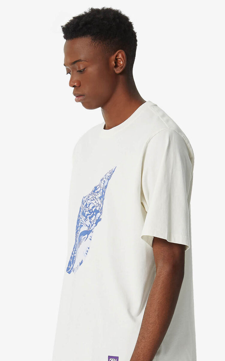 OFF WHITE 'Seashell' 'High Summer Capsule Collection' T-shirt for women KENZO