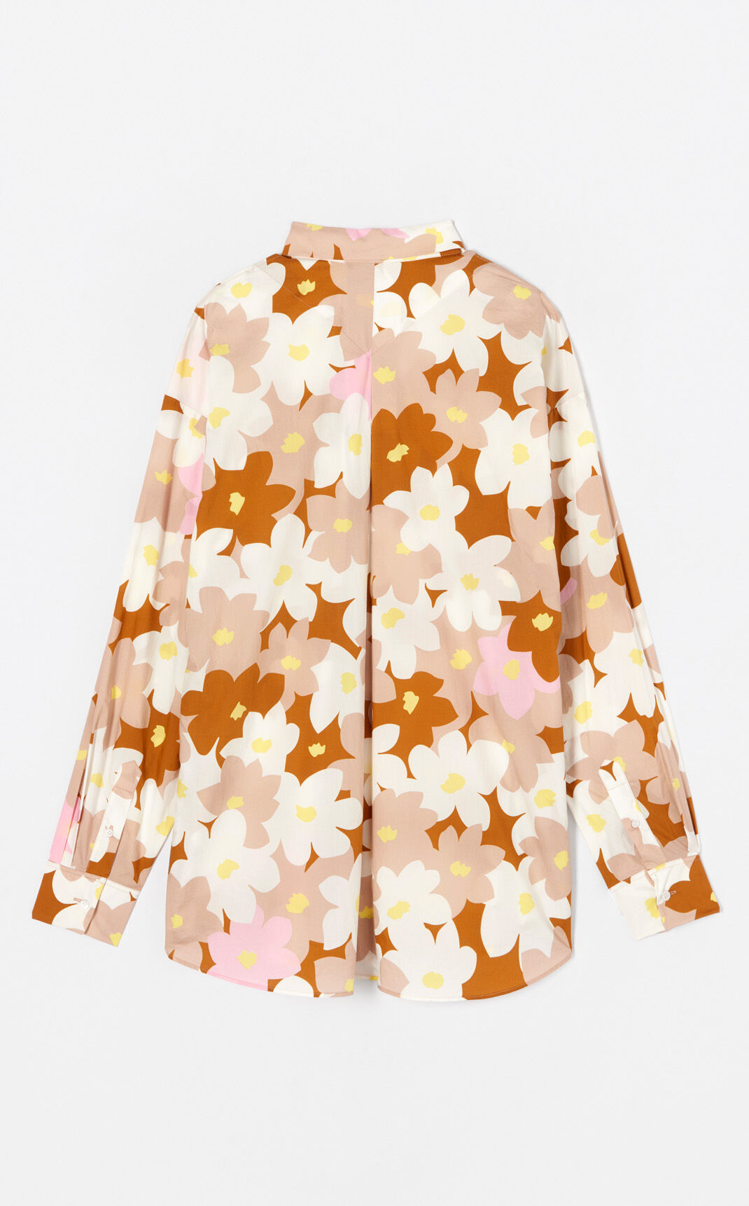 SKIN 'Jackie Flowers' oversized shirt for women KENZO