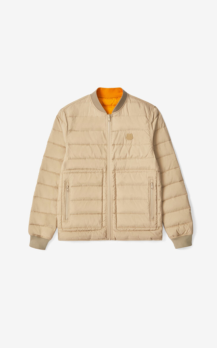 BEIGE Reversible quilted jacket for women KENZO