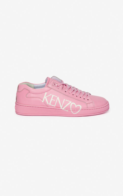 PASTEL PINK Tennix sneakers for unisex KENZO