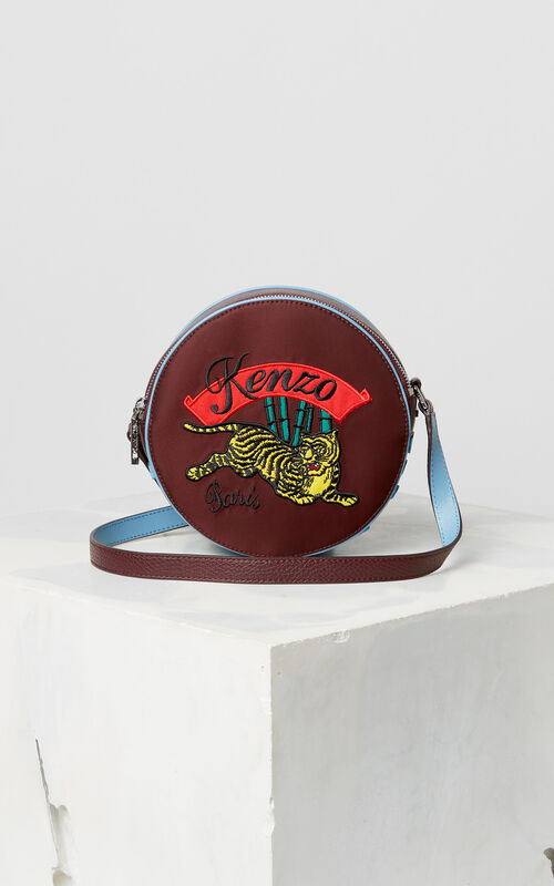 PRUNE 'Jumping Tiger' cross-body bag for unisex KENZO