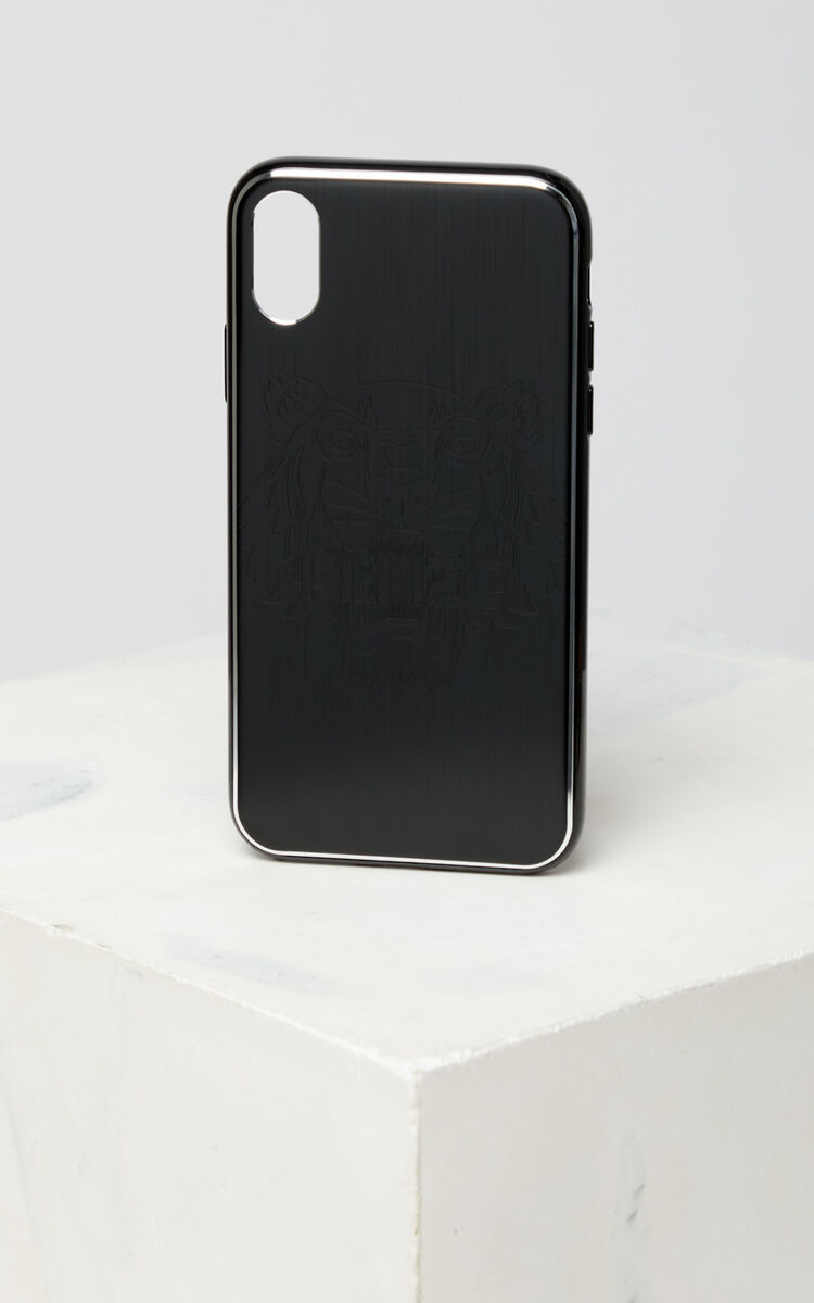 BLACK iPhone X Tiger Case for unisex KENZO