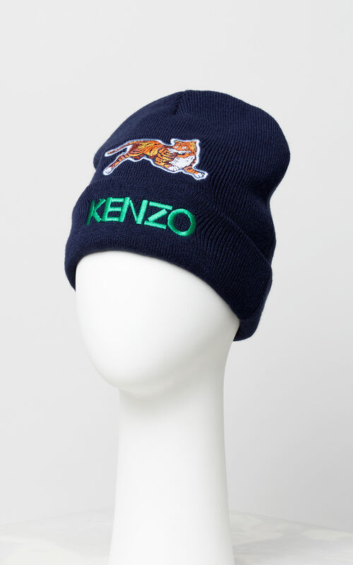 NAVY BLUE 'Fantastic Jungle' hat for women KENZO