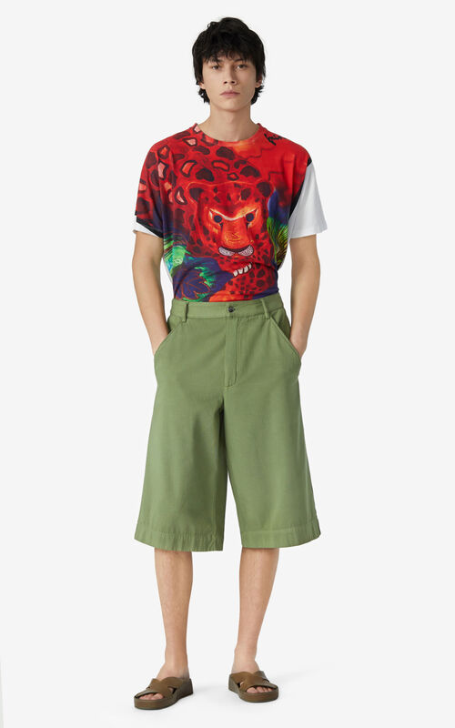 OLIVE Casual shorts for men KENZO
