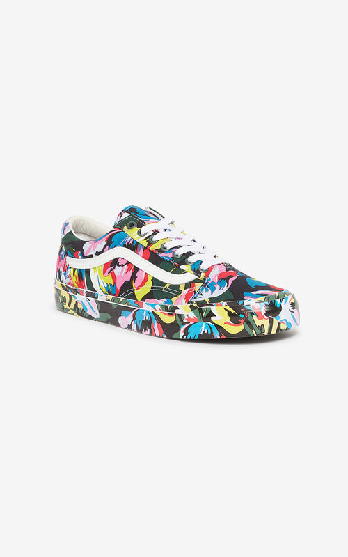 BLACK OLD SKOOL 'Tulipes' KENZO/VANS sneakers  for unisex