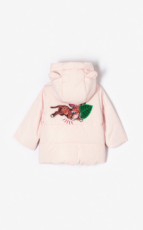 FADED PINK 'Fantastic Jungle' jacket for women KENZO
