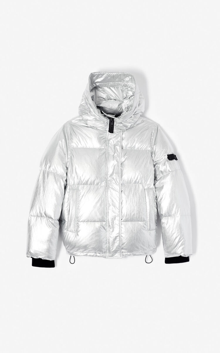 bf531770 Hooded quilted down jacket for OUTLET Kenzo | Kenzo.com